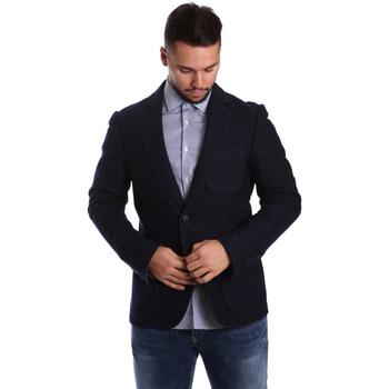 vaatteet Miehet Takit / Bleiserit Antony Morato MMJA00322 FA500034 Sininen