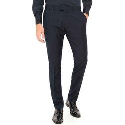 vaatteet Miehet Chino-housut / Porkkanahousut Antony Morato MMTR00369 FA600040 Sininen