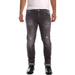 vaatteet Miehet Slim-farkut Gaudi 721FU26001 Musta