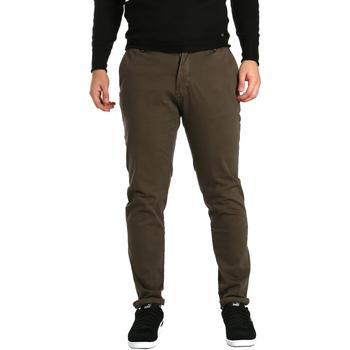 vaatteet Miehet Chino-housut / Porkkanahousut Gaudi 721BU25014 Ruskea