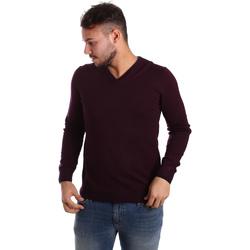 vaatteet Miehet Neulepusero Gaudi 721BU53019 Violetti