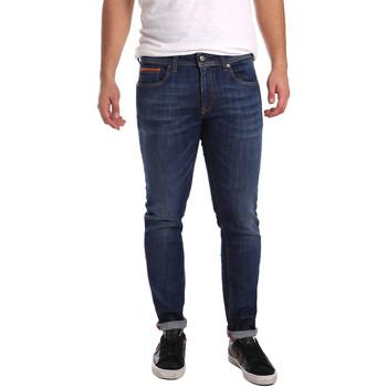 vaatteet Miehet Slim-farkut 3D P3D6 2667 Sininen