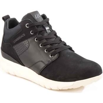 kengät Miehet Korkeavartiset tennarit Lumberjack SM34505 002 M20 Musta