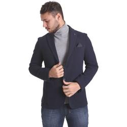 vaatteet Miehet Takit / Bleiserit Sei3sei PZG9 7291 Sininen