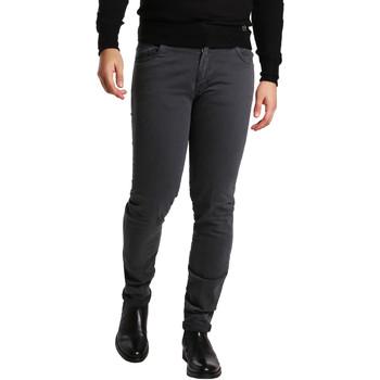 vaatteet Miehet 5-taskuiset housut Sei3sei PZV16 7239 Harmaa
