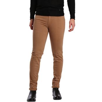 vaatteet Miehet 5-taskuiset housut Sei3sei PZV16 7239 Beige