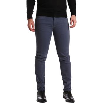 vaatteet Miehet 5-taskuiset housut Sei3sei PZV16 7239 Sininen