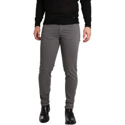 vaatteet Miehet 5-taskuiset housut Sei3sei PZV17 7226 Harmaa