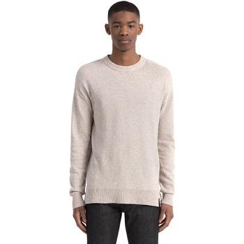 vaatteet Miehet Neulepusero Calvin Klein Jeans J30J305466 Beige
