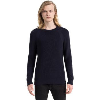 vaatteet Miehet Neulepusero Calvin Klein Jeans J30J305473 Sininen