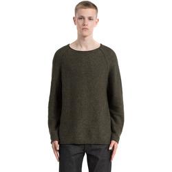 vaatteet Miehet Neulepusero Calvin Klein Jeans J30J305476 Vihreä