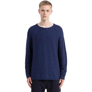 vaatteet Miehet Neulepusero Calvin Klein Jeans J30J305476 Sininen