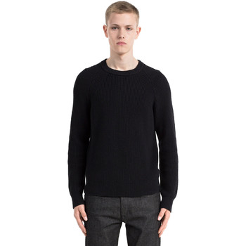 vaatteet Miehet Neulepusero Calvin Klein Jeans J30J305479 Musta