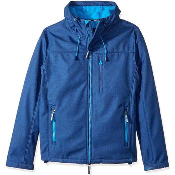 vaatteet Miehet Tuulitakit Superdry M50000ZOF4 Sininen
