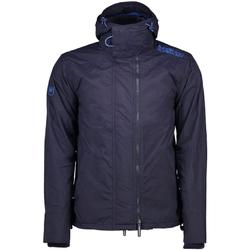 vaatteet Miehet Parkatakki Superdry M50009ZPF6 Sininen