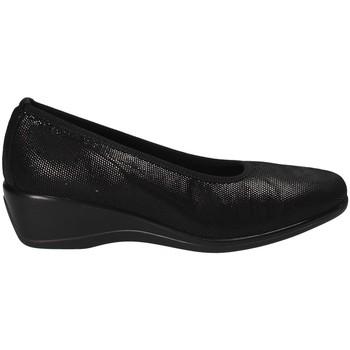 kengät Naiset Balleriinat Susimoda 830150 Musta