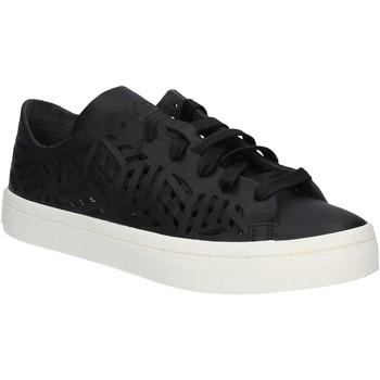 kengät Naiset Matalavartiset tennarit adidas Originals BY2956 Musta