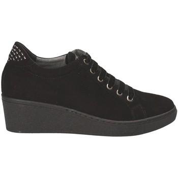 kengät Naiset Matalavartiset tennarit Grunland SC3524 Musta