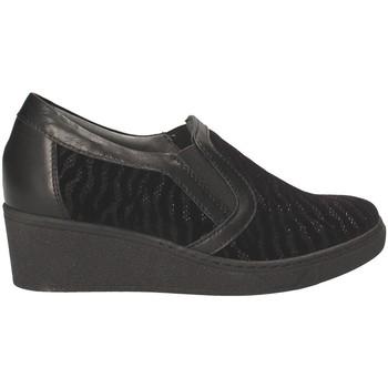 kengät Naiset Mokkasiinit Grunland SC3525 Musta