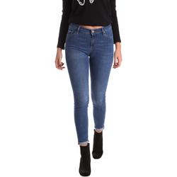 vaatteet Naiset Skinny-farkut Gas 355652 Sininen