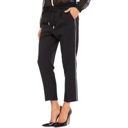vaatteet Naiset Chino-housut / Porkkanahousut Gas 365777 Musta