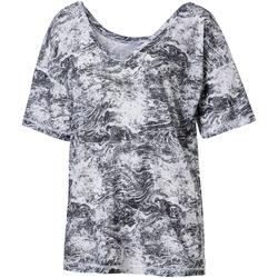 vaatteet Naiset Lyhythihainen t-paita Puma 515721 Harmaa