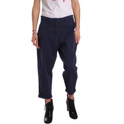 vaatteet Naiset Chino-housut / Porkkanahousut Tommy Hilfiger DW0DW02588 Sininen