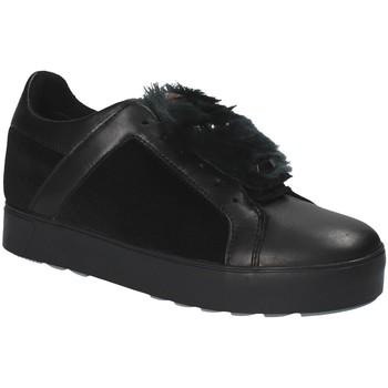 kengät Naiset Matalavartiset tennarit Apepazza RSW03 Musta