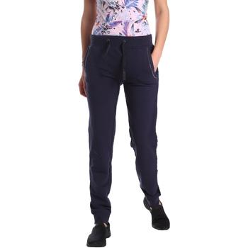 vaatteet Naiset Verryttelyhousut Key Up GE42 0001 Sininen