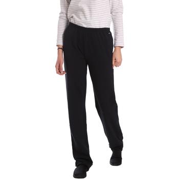 vaatteet Naiset Väljät housut / Haaremihousut Key Up 549F 0001 Musta
