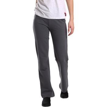 vaatteet Naiset Väljät housut / Haaremihousut Key Up 549F 0001 Harmaa
