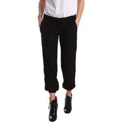 vaatteet Naiset Chino-housut / Porkkanahousut Denny Rose 721DD20026 Musta