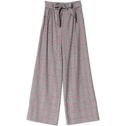 vaatteet Naiset Väljät housut / Haaremihousut Denny Rose 721DD20029 Musta