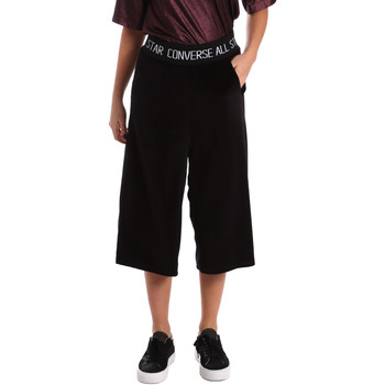vaatteet Naiset Caprihousut Converse 10006187 Musta