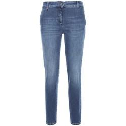vaatteet Naiset Slim-farkut Nero Giardini A760120D Sininen