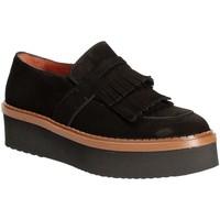 kengät Naiset Mokkasiinit Triver Flight 217-04 Musta
