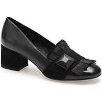 kengät Naiset Mokkasiinit Apepazza ADY02 Musta