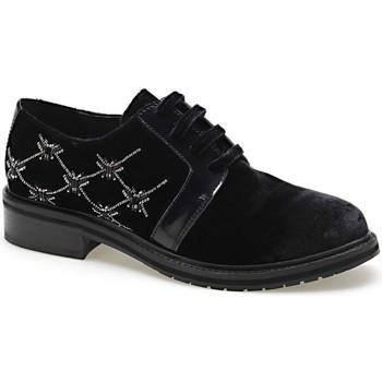 kengät Naiset Derby-kengät Apepazza CMB03 Musta