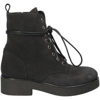 kengät Naiset Nilkkurit Mally 4235 Musta