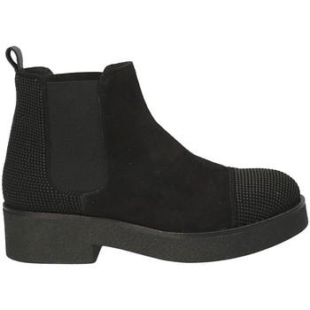 kengät Naiset Nilkkurit Mally 5536 Musta