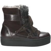 kengät Naiset Talvisaappaat Mally 5990 Ruskea