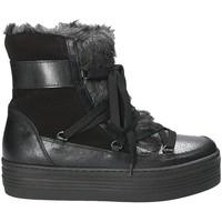 kengät Naiset Talvisaappaat Mally 5990 Musta