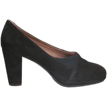 kengät Naiset Korkokengät Stonefly 109154 Musta