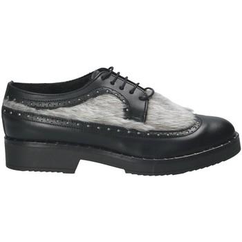 kengät Naiset Derby-kengät Mally 4665SD Musta