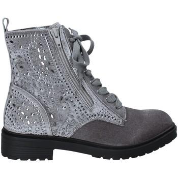 kengät Naiset Nilkkurit Fornarina PI18RO1140V006 Harmaa
