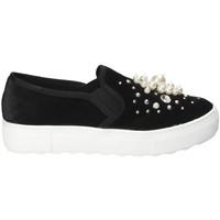 kengät Naiset Tennarit Fornarina PI18RU1149A000 Musta