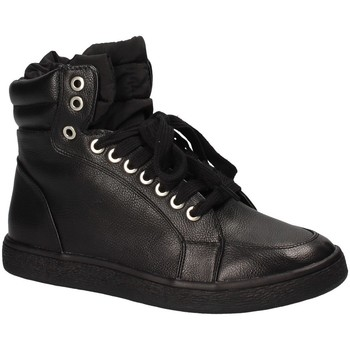 kengät Naiset Korkeavartiset tennarit Fornarina PI18WI1129P000 Musta