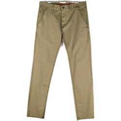 vaatteet Miehet Chino-housut / Porkkanahousut Gaudi 811FU25033 Vihreä