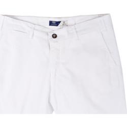 vaatteet Miehet Shortsit / Bermuda-shortsit Sei3sei PZV132 81497 Valkoinen