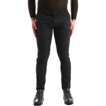 vaatteet Miehet Chino-housut / Porkkanahousut Gaudi 821FU25013 Harmaa